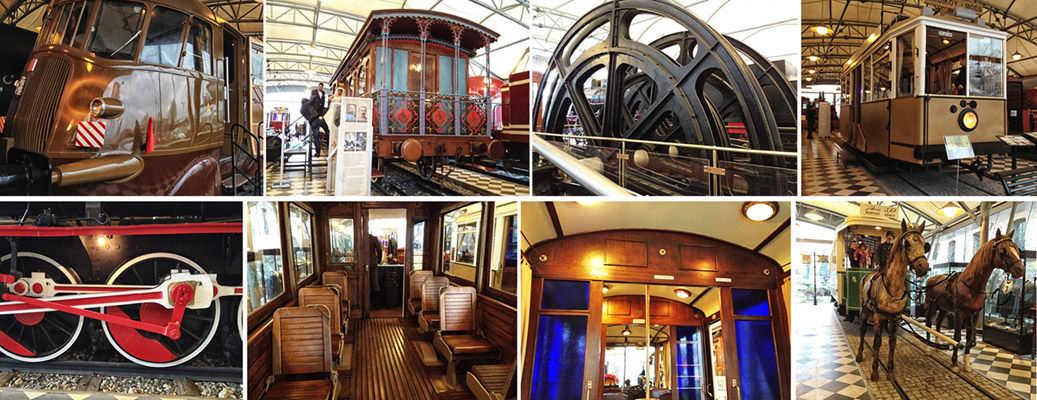 koç müzesindeki vagonlar